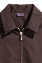 Shirt jacket - Dark brown - Men | H&M CN 3