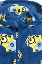 Tuta in pile - Blu scuro/Minions - BAMBINO | H&M IT 2