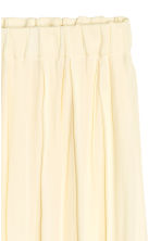 Pleated skirt - Natural white - Ladies | H&M CN 2