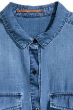 Lyocell utility shirt - Denim blue - Ladies | H&M 4