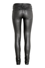 Coated Skinny Low Jeans - Black - Ladies | H&M 3