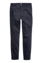 Chinos Skinny fit - Dark blue - Men | H&M 2