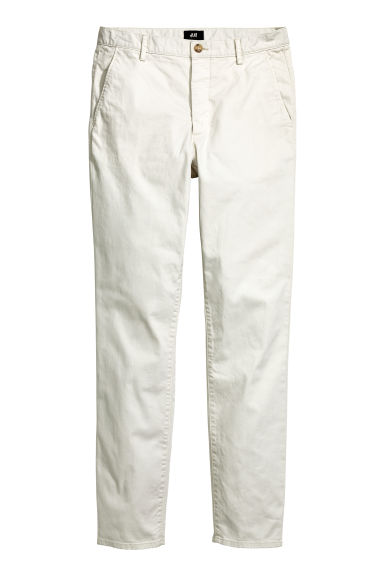 Chino Skinny fit - Light grey - HOMME | H&M FR 1