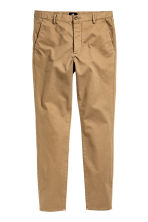 Chinos Skinny fit - Dark beige - Men | H&M IE 2