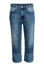 Regular Low Cropped Jeans - Blu denim - DONNA | H&M IT 2