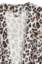 Leopard-print dressing gown - Light grey/Black - Home All | H&M CN 3