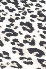 Leopard-print fitted sheet - Light grey/Black - Home All | H&M CA 2