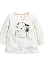 Dress and leggings - White/Ghost - Kids | H&M CN 3