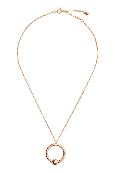 Necklace with a pendant - Gold - Ladies | H&M GB 1