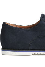 Derby shoes - Dark blue - Men | H&M CN 3