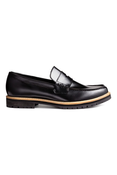 Chunky-sole loafers - Black - Men | H&M CN 1