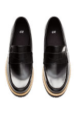 Chunky-sole loafers - Black - Men | H&M CN 2