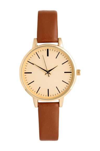 Watch - Cognac brown - Ladies | H&M CN 1