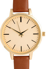 Watch - Cognac brown - Ladies | H&M CN 3