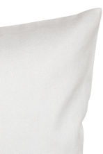 Cotton twill cushion cover - Light grey - Home All | H&M CN 2
