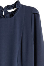 Knee-length dress - Dark blue - Ladies | H&M CN 4