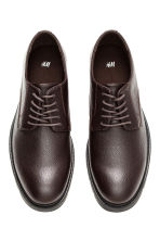 Derby shoes - Dark brown - Men | H&M CN 2
