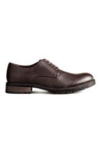 Derby shoes - Dark brown - Men | H&M CN 1