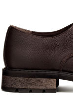 Derby shoes - Dark brown - Men | H&M CN 4