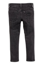 Skinny Fit Biker Jeans - Schwarz washed out -  | H&M CH 3