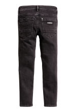Skinny Fit Biker Jeans - Black washed out - Kids | H&M CN 3