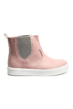 Warm-lined Chelsea boots - Old rose - Kids | H&M CN 1