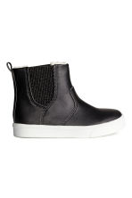 Warm-lined Chelsea boots - Black - Kids | H&M CN 2