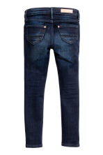 Skinny Fit Biker Jeans - Dark denim blue - Kids | H&M CN 3
