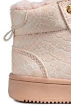 Pile-lined hi-top trainers - Powder pink - Kids | H&M CN 3