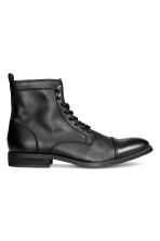 Chukka boots with a zip - Black - Men | H&M CN 2