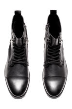 Chukka boots with a zip - Black - Men | H&M CN 3
