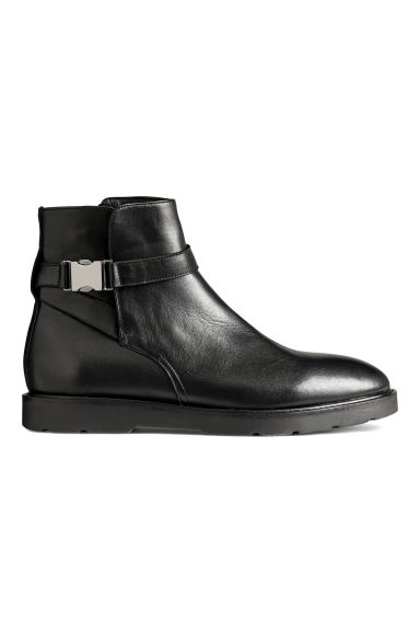 Johphur in pelle - Nero -  | H&M IT 1