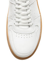 Leather trainers - White - Men | H&M IE 4