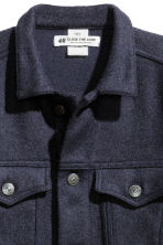 Wool-blend jacket - Dark blue - Ladies | H&M CN 4