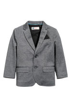 Piqué jacket - Black marl - Kids | H&M CN 2