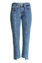 Straight High Ankle Jeans - 牛仔蓝 - Ladies | H&M CN 2