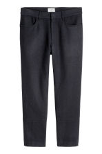 Pantaloni in misto lana - Blu scuro - UOMO | H&M IT 2