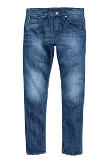 Slim Tapered Selvedge Jeans