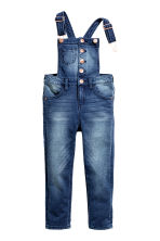 Salopette Super Soft in denim - Blu denim - BAMBINO | H&M IT 2