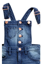 Salopette Super Soft in denim - Blu denim - BAMBINO | H&M IT 4
