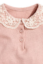 Fine-knit jumper - Powder pink -  | H&M CN 2