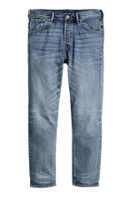 Tapered Low Jeans - Denim blue - Men | H&M CN 2
