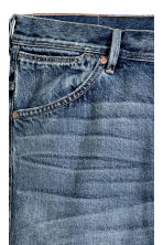 Tapered Low Jeans - Denim blue - Men | H&M CN 4