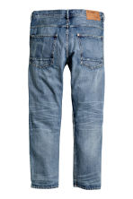 Tapered Low Jeans - 牛仔蓝 - 男士 | H&M CN 3