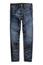 Tapered Low Jeans - Dark denim blue - Men | H&M CN 2