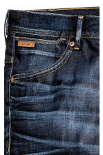 Tapered Low Jeans - Dark denim blue - Men | H&M CN 4