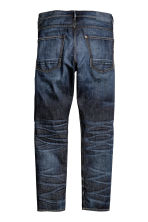 Tapered Low Jeans - Dark denim blue - Men | H&M CN 3