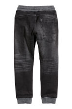 Joggers in denim - Nero Washed out - BAMBINO | H&M IT 3