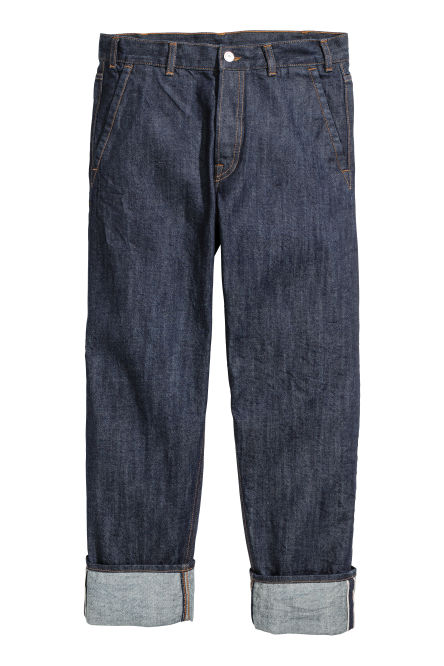 Relaxed Cropped Selvedge Jeans