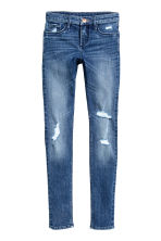 Skinny Fit Worn Jeans - Bleu denim - ENFANT | H&M FR 1